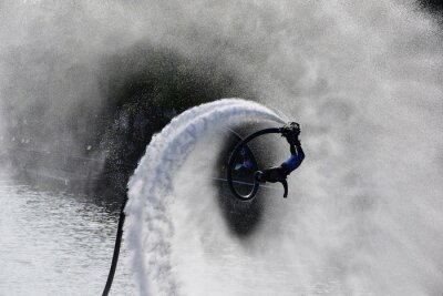 Plakat Flyboard extreme sport