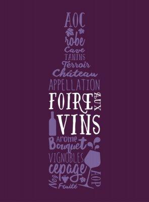 Plakat Foire aux Vins