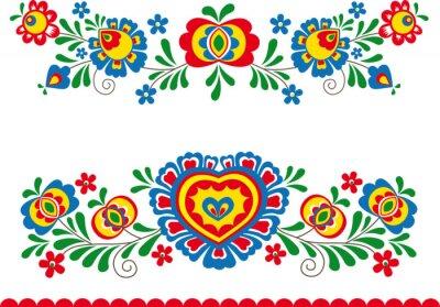 Plakat Folk ornaments