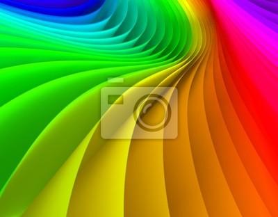 Fondo abstracto de ondas de colores