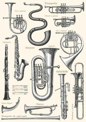 Plakat Francuska muzyka plakat