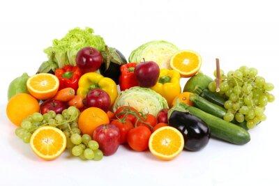 Plakat Frutta e warzywa