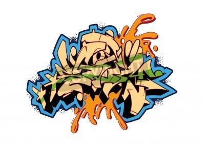 Plakat Graffiti wektora projektu szkic, program word STORM. To jest moje ilustracji.