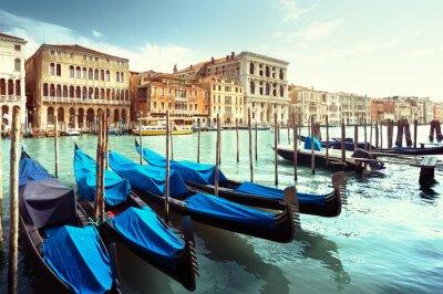 Plakat Grand Canal, Wenecja, Włochy