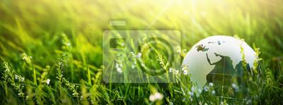 Plakat Green Planet Concept for Environment
