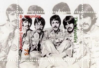Plakat Gwinea - OKOŁO 1996: The Beatles - 1960 słynny musical grupą pop