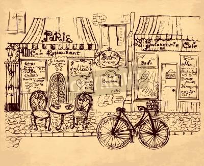 Plakat hand drawn illustration