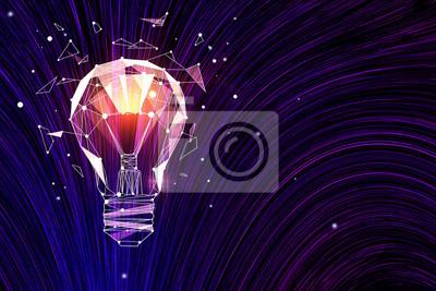 Plakat Idea i koncepcja innowacji