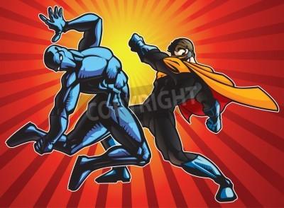 Plakat Idolem i cholerny ninja temu Bitwa.