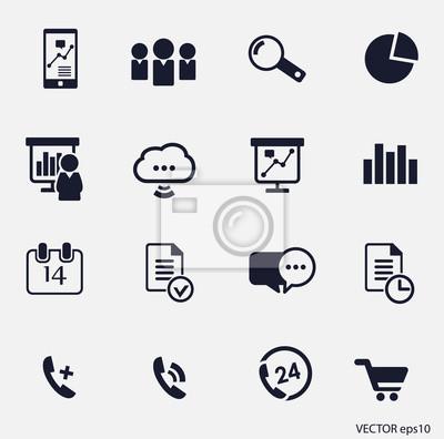 ikona biznesu set16