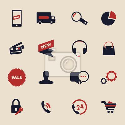 Ikony zakupy online