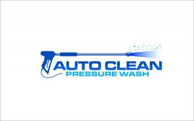 Plakat Illustration vector graphic of pressure power wash spray logo design template
