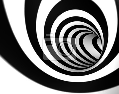 imagen 3d de Remolino o tunel abstracto