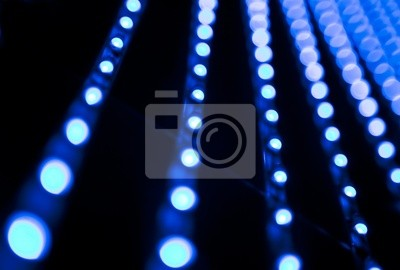 imagen abstracta de bombillas doprowadziło