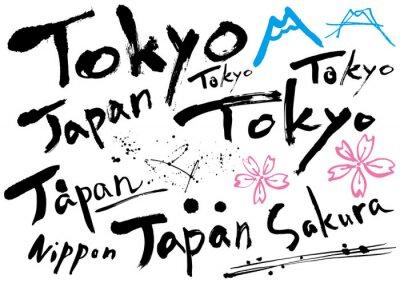 Plakat japan_mojisozai