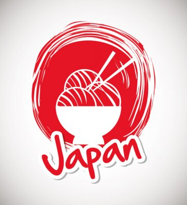 Plakat Japonia kultura projektowe