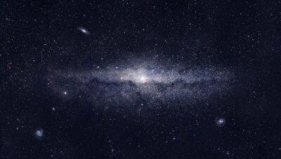 Plakat Jasne galaktyki