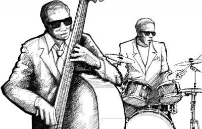 Plakat Jazz band