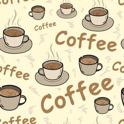 Plakat Jednolite kawy z pary