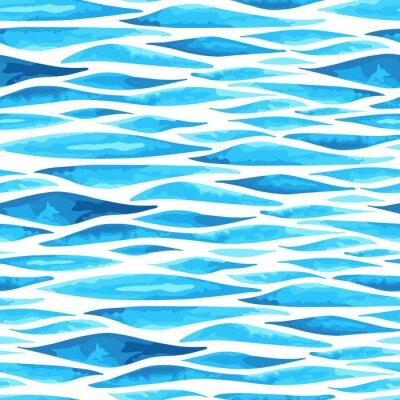 Plakat Jednolite poziome tle morza