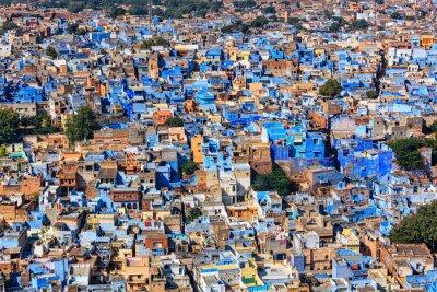Plakat Jodhpur Blue City, Rajasthan, Indie