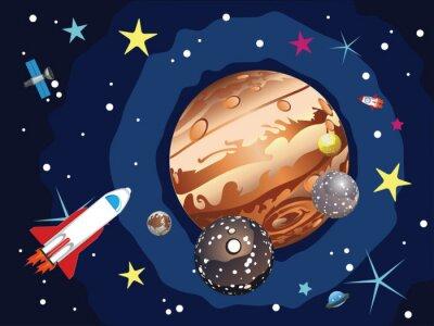 Plakat Jupiter Planet
