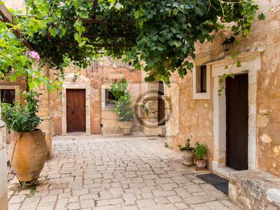 Plakat Klasztor Arkadi, Kreta, Grecja