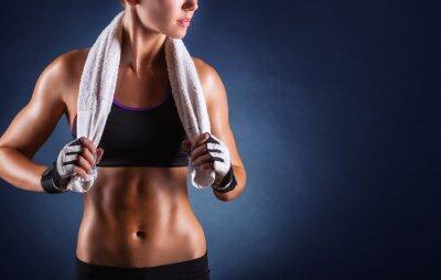 Plakat Kobieta fitness