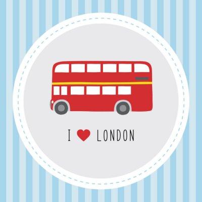 Plakat Kocham London12
