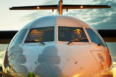 Plakat Kokpit samolotu