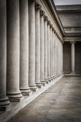 Plakat Kolumny na dziedzińcu Pałacu Legii Honorowej