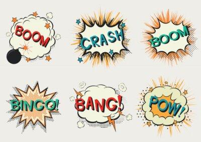 Plakat Komiks mowy bubble.