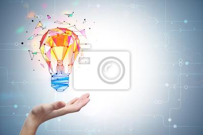 Plakat Koncepcja oświecenia i innowacji