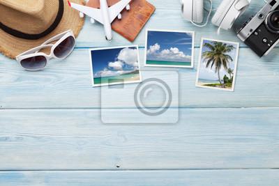Plakat Koncepcja tło wakacje wakacje