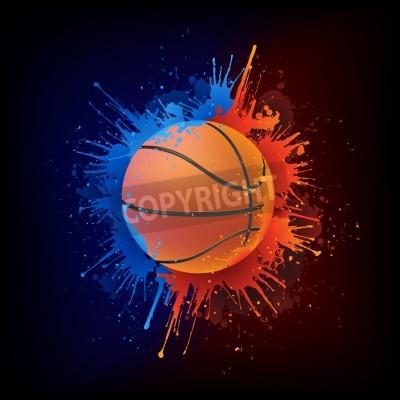 Plakat Koszykówka Ball