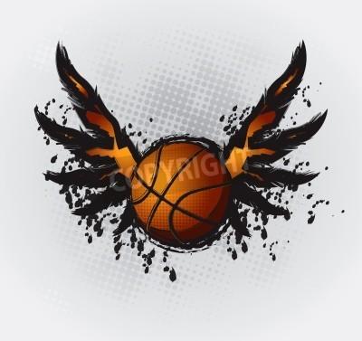 Plakat Koszykówka Design Element 1 Wektor Rysunek