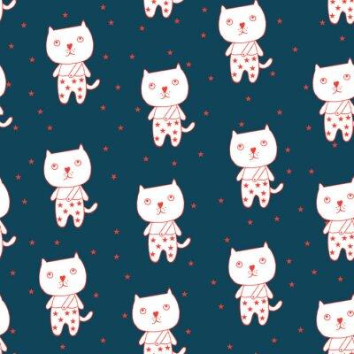 Plakat Kot i gwiazda