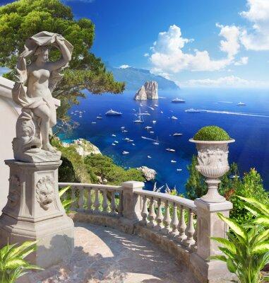 Plakat Krajobraz Morza Śródziemnego