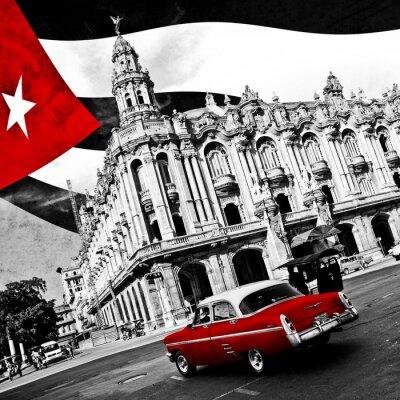 Plakat Kuba (n & b)