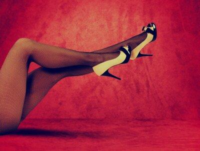 Plakat Kusząca nogi