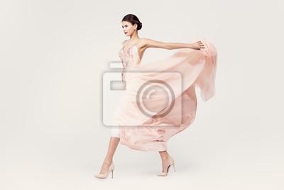 Plakat lady in wedding dress