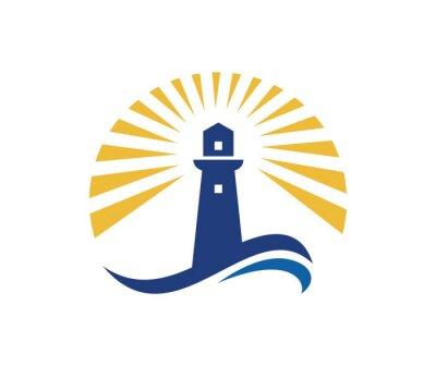 Plakat Lighthouse logo