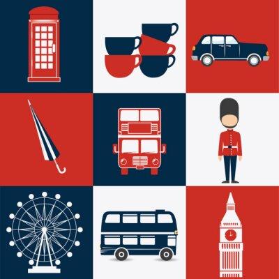 Plakat London design.