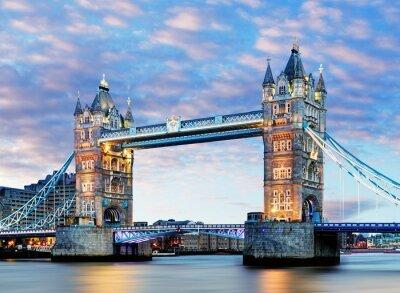 Plakat London, Tower Bridge