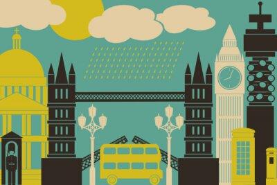 Plakat London Zobacz