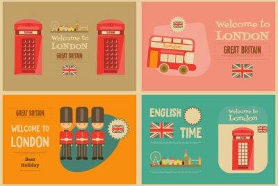 Plakat Londyn