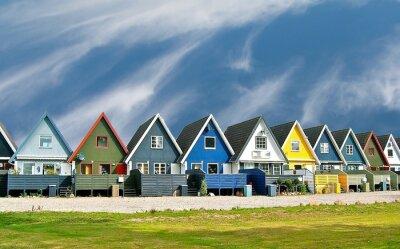 Plakat Maisons scandinaves