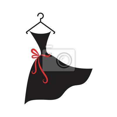 Plakat mała czarna sukienka