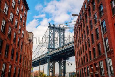 Plakat Manhattan Bridge seen from Dumbo, Brooklyn, New York City