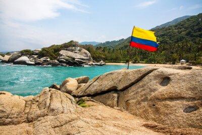 Plakat Maravilloso Parque Nacional Tayrona (Kolumbia)